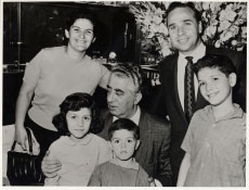My family with composer Aram Khatchatourian(I am the youngest). - 1961